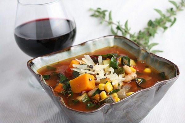 Supa de legume in stil italian