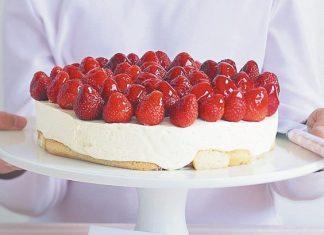 tarta cu capsuni