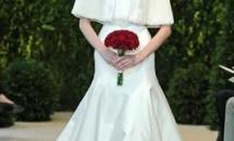 Colectia de rochii de mireasa Carolina Herrera primavara - vara 2014