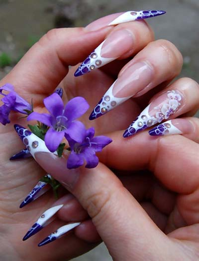 Modele unghii ascutite