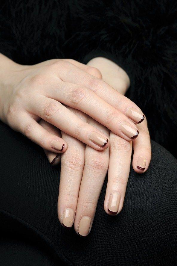 Modele de unghii clasice