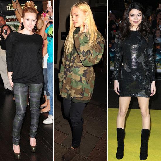 Stilul army a revenit la moda