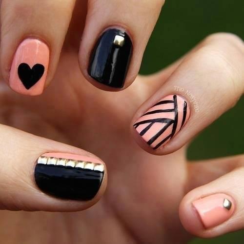 modele unghii cu oja permanenta