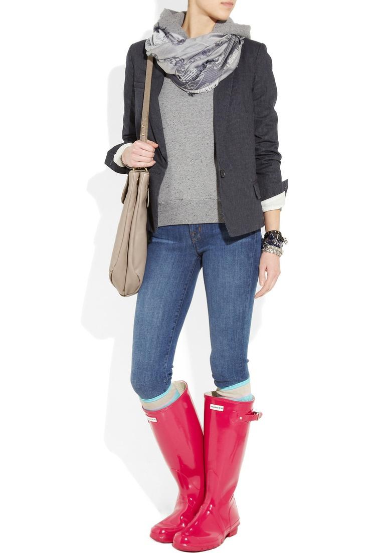 Moda cizmelor de cauciuc