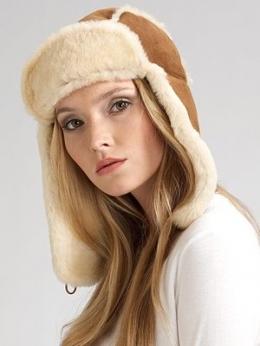 caciula blana dama