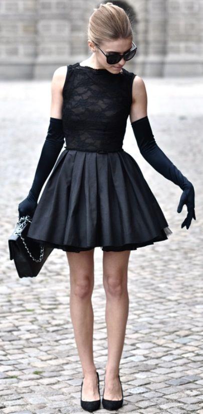 rochie neagra balerina