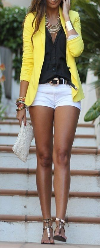 sacou galben pentru vara