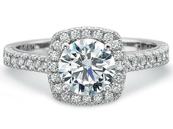 Inel de logodna diamant