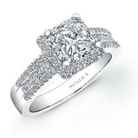 Inel de logodna platina