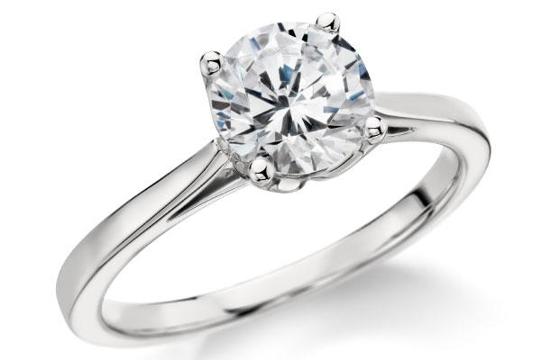 Inel de logodna simplu