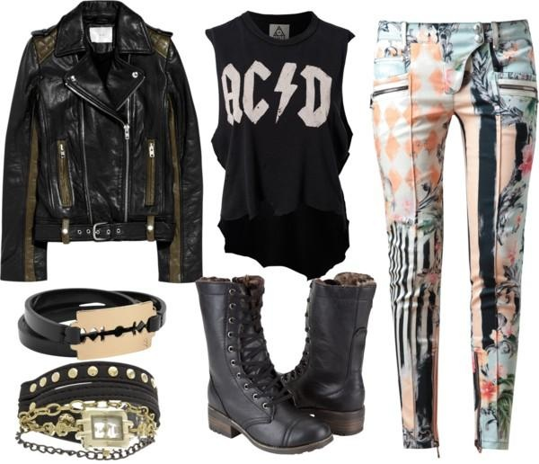 haine pentru concert rock