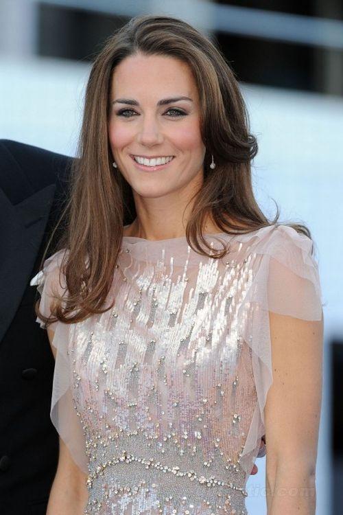 machiaj de seara Kate Middleton