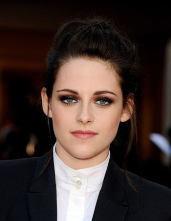 machiaj natural Kristen Stewart