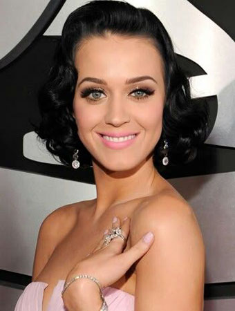 machiajul Katy Perry
