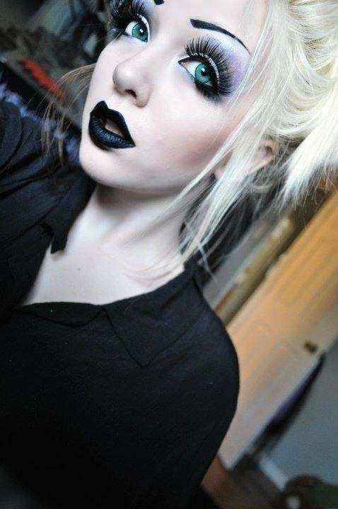 makeup simplu emo