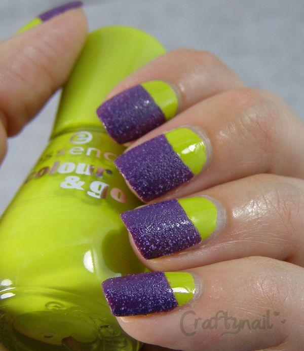 model de unghii semiluna cu caviar