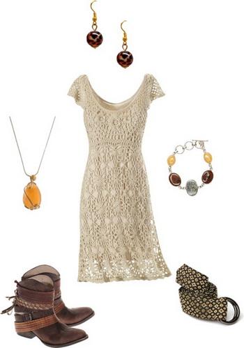rochita in stil bohemian