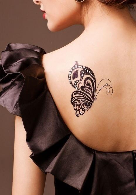 tatuaj Fluture
