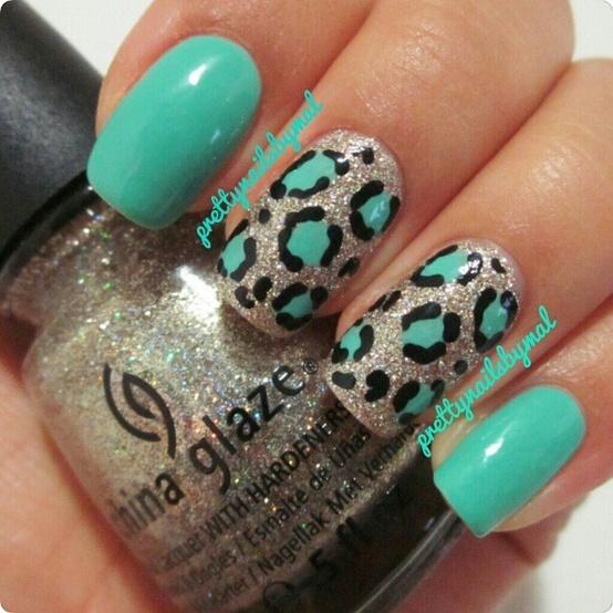 unghii cu primeu leopard