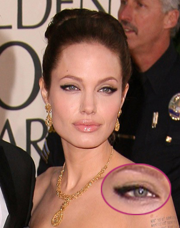 Angelina Jolie Machiaj ochi de pisica