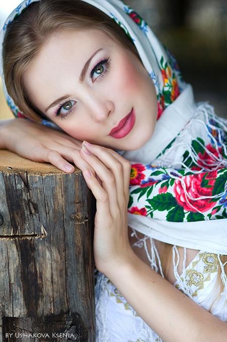 machiaj in stil rusesc