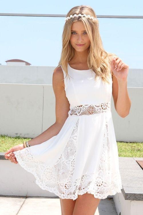 rochie de vara cu dantela