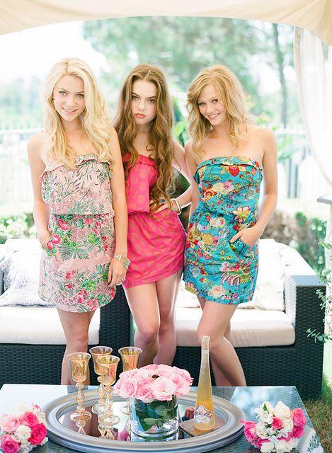 rochii colorate de vara