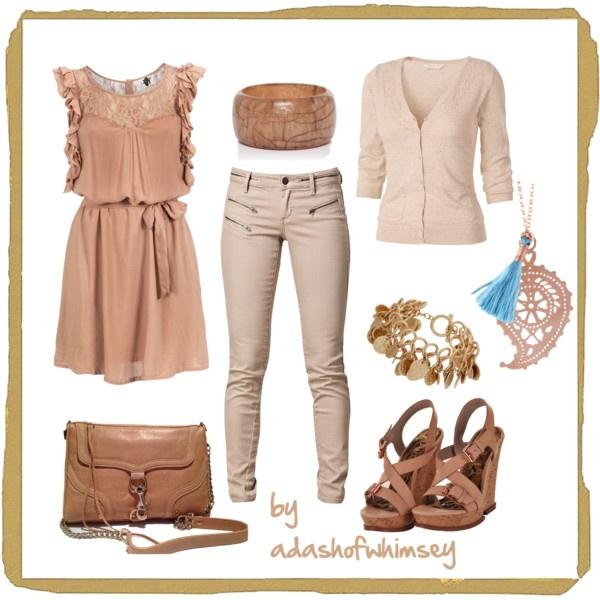 combinatii haine culori neutre