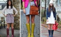 Cum sa porti cizmele de ploaie