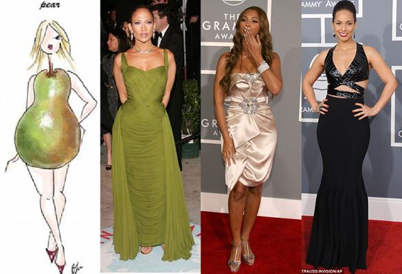 rochii pentru femeile cu corpul in forma de para