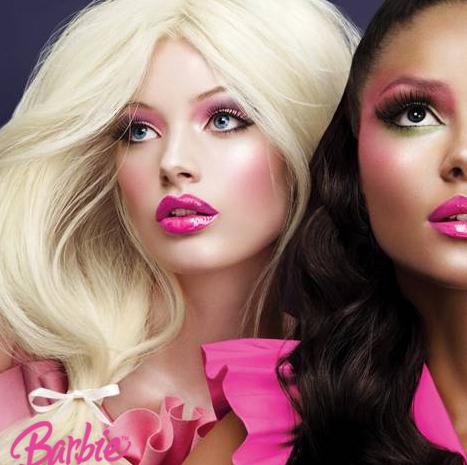 Machiaj Barbie