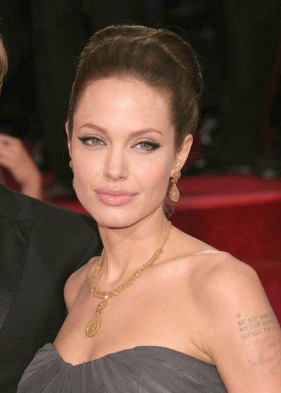 machiaj Angelina Jolie