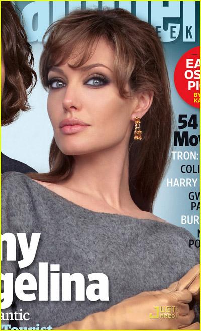 machiaj ca al Angelinei Jolie