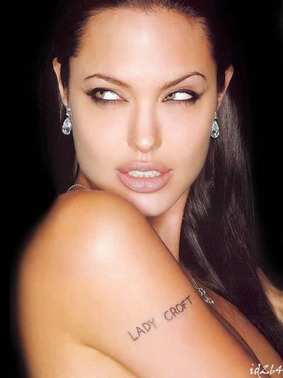 makeup Angelina Jolie