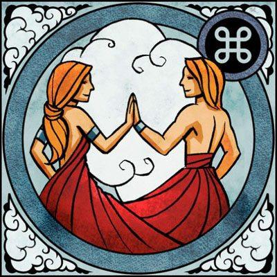 Zodiac Indian Gemeni – Mithuna