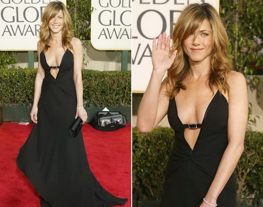 Jennifer Aniston coafura par mediu