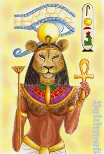 Zodia Sekhmett din zodiacul Egiptean