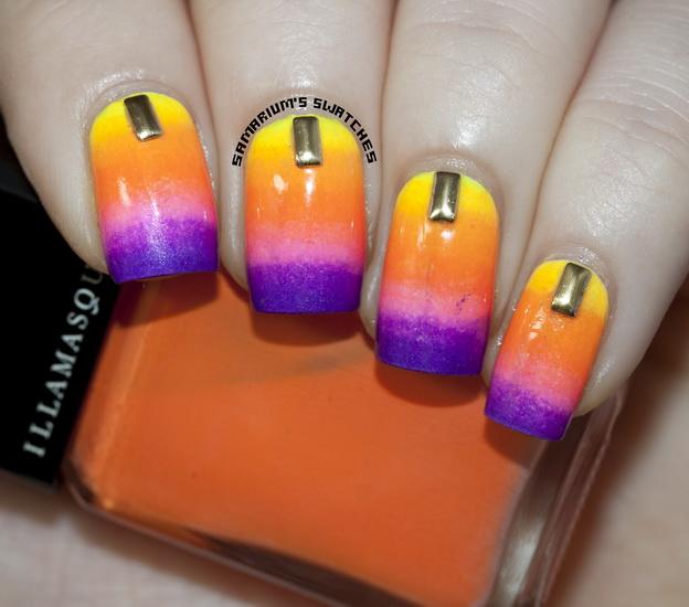 unghii in gradient