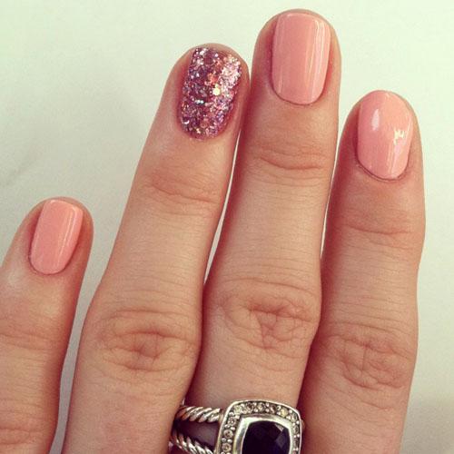 unghii frumoase roz