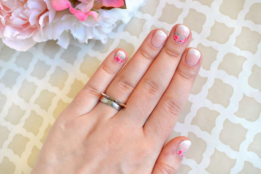 unghii mici mireasa
