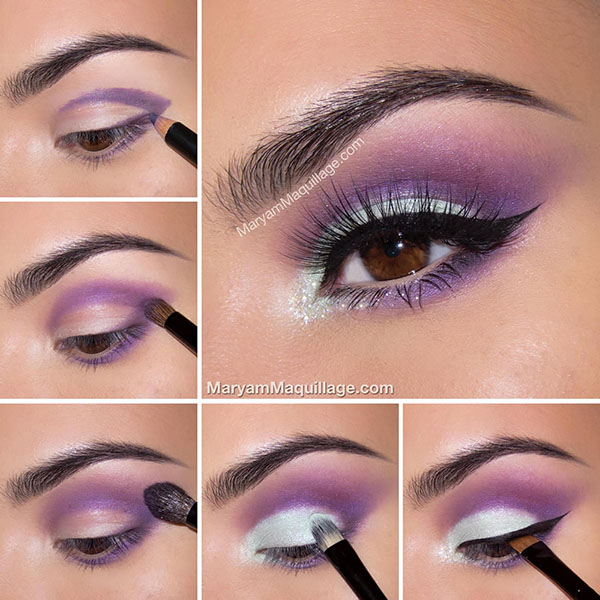 realizare Machiaj smokey eyes mov