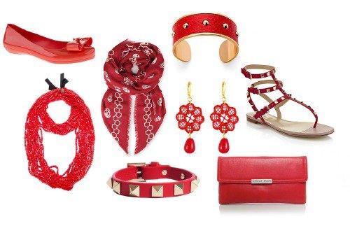 accesorii vestimentare rosii