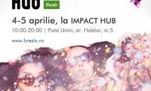 De neratat în Aprilie — Breslo Handmade Hub, primul eveniment oficial Breslo.ro din ultimii 4 ani