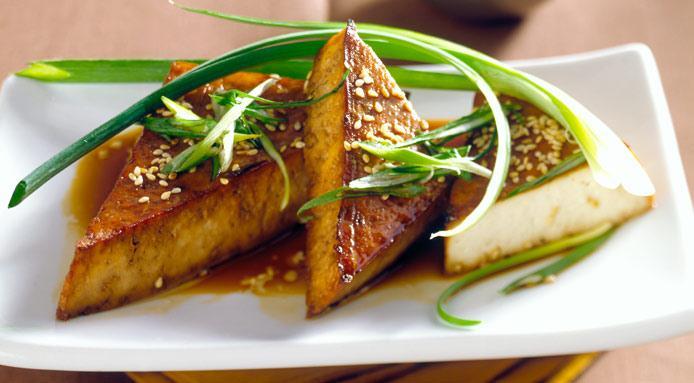 Branza tofu cu seminte de susan
