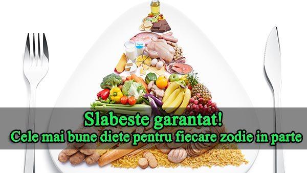 Cele mai bune diete pentru fiecare zodie in parte