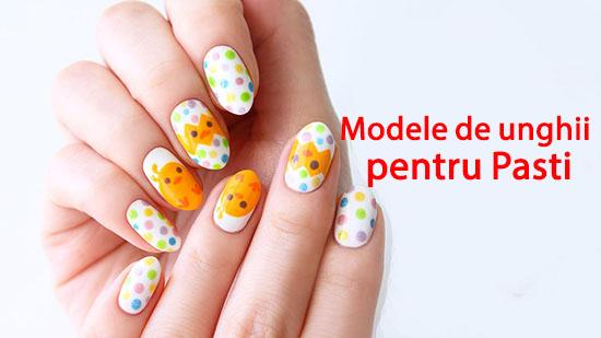 Modele de unghii pentru Pasti