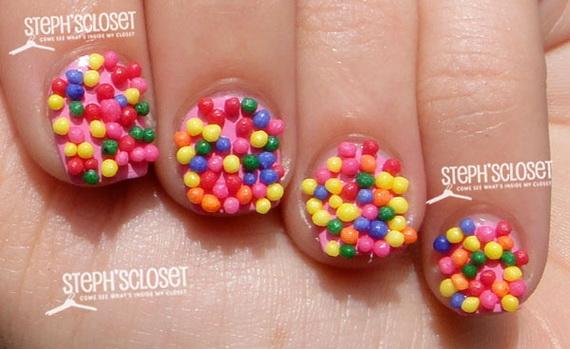 unghii cu bomboane