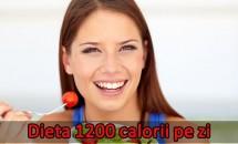 Dieta 1200 calorii pe zi: Meniul vegan, vegetarian şi obişnuit