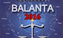 Horoscop Balanta 2016