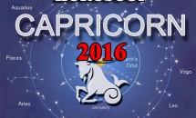 Horoscop Capricorn 2016